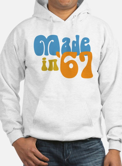 Made in 1967 (Retro) Hoodie