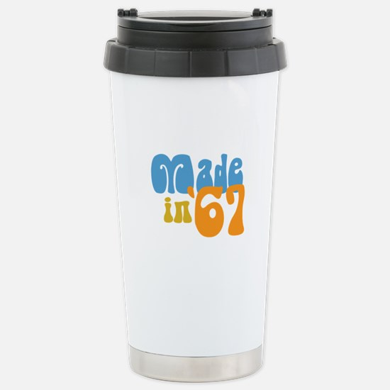 Made in 1967 (Retro) Stainless Steel Travel Mug