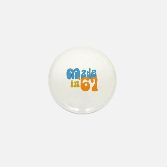 Made in 1967 (Retro) Mini Button