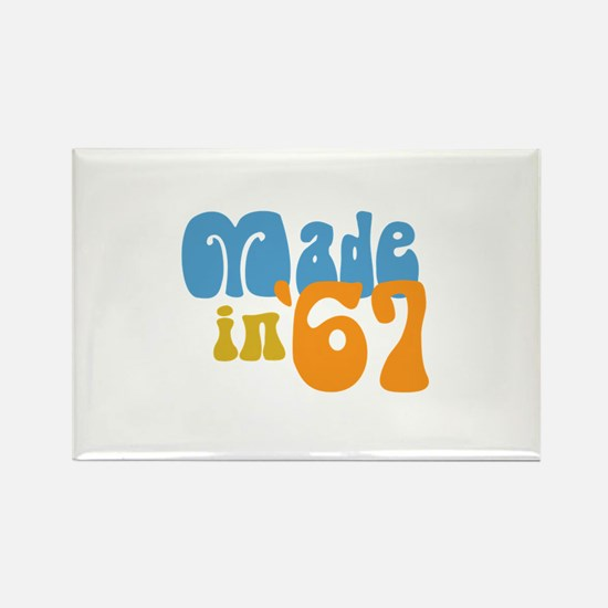 Made in 1967 (Retro) Rectangle Magnet