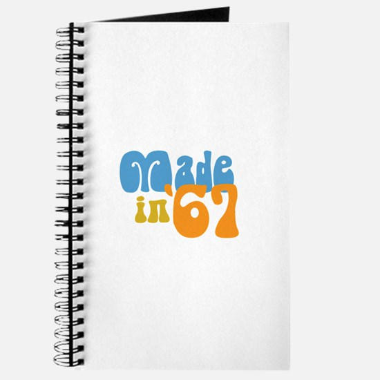 Made in 1967 (Retro) Journal