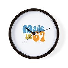Made in 1967 (Retro) Wall Clock