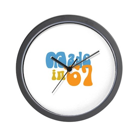 Made in 1967 (Retro) Wall Clock