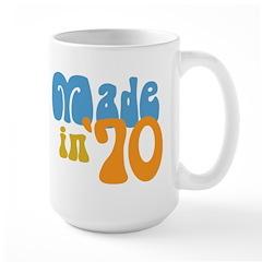 Made in 1970 (Retro) Large Mug