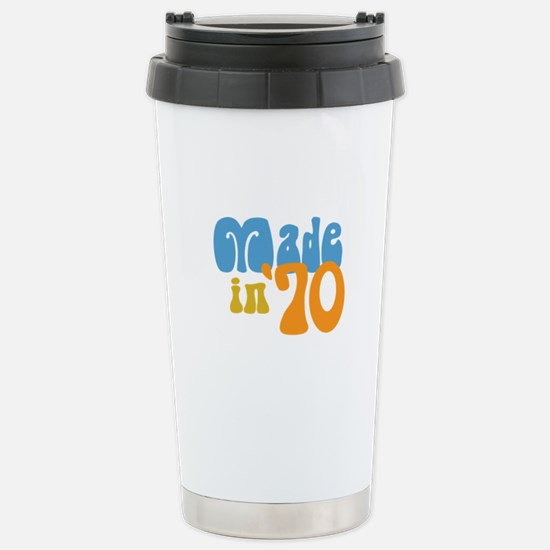 Made in 1970 (Retro) Stainless Steel Travel Mug