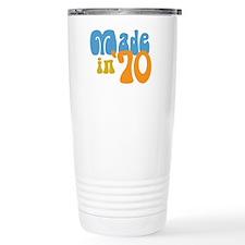 Made in 1970 (Retro) Travel Mug