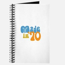Made in 1970 (Retro) Journal