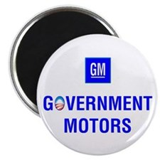GM: Government Motors Magnet