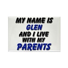 my name is glen and I live with my parents Rectang