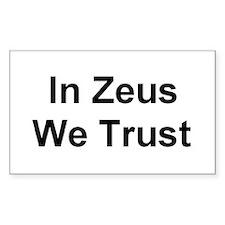 Zeus Rectangle Decal