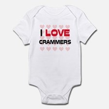 I LOVE CRAMMERS Infant Bodysuit