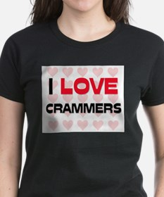 I LOVE CRAMMERS Tee