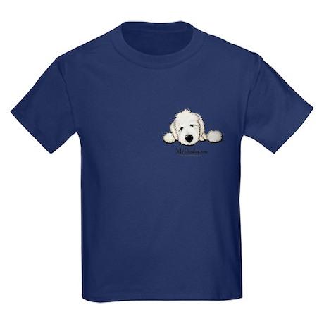 JACK English Goldendoodle Kids Dark T-Shirt