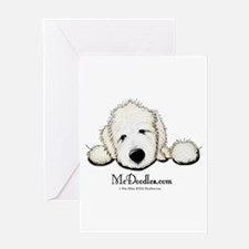 JACK English Goldendoodle Greeting Card