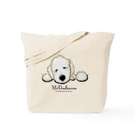 JACK English Goldendoodle Tote Bag