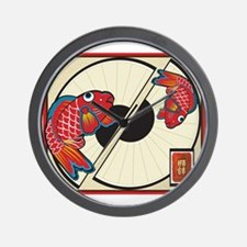 Fan of Fish Wall Clock