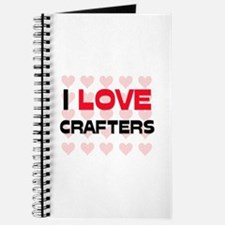 I LOVE CRAFTERS Journal