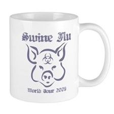 Swine Flu WT (gray) Mug