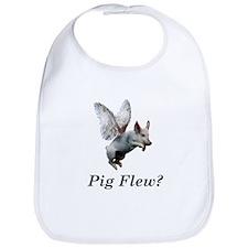 Pig Flew Bib