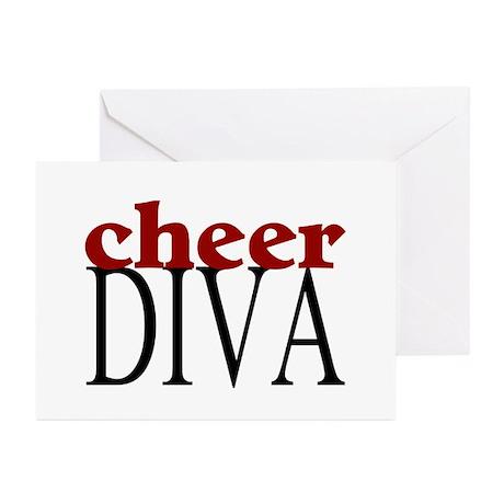 Cheer Diva Greeting Cards (Pk of 10)