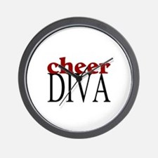 Cheer Diva Wall Clock