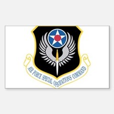 AFSOC Rectangle Decal