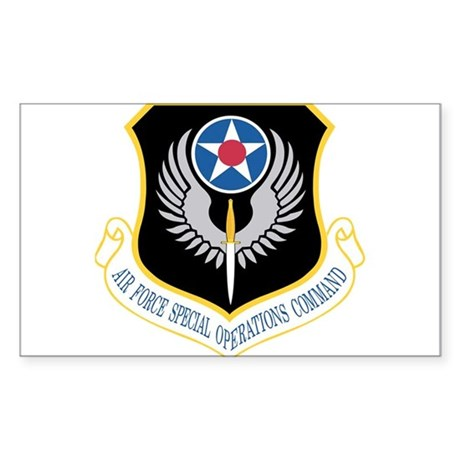 AFSOC Rectangle Sticker