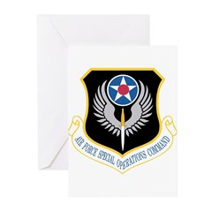 AFSOC Greeting Cards (Pk of 20)