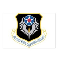 AFSOC Postcards (Package of 8)