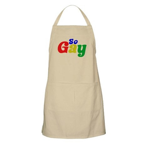 So Gay BBQ Apron