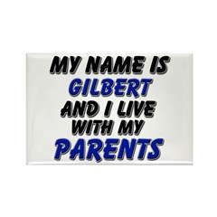 my name is gilbert and I live with my parents Rect