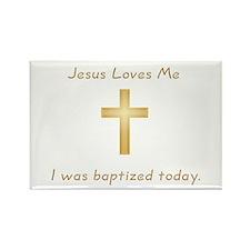 Baptism Gift Rectangle Magnet