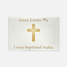 Baptism Gift Rectangle Magnet