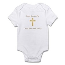 Baptism Gift Infant Bodysuit