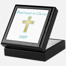 Baptism Boy Keepsake Box