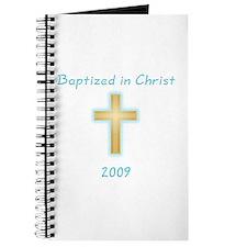 Baptism Boy Journal