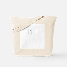 Golden Rectangle Tote Bag