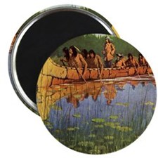 """Great Explorers by Remington 2.25"""" Magnet (100 pac"""