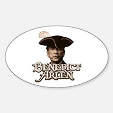 Benedict Arlen Specter Oval Decal