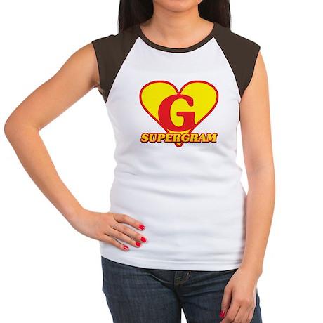 SuperGram Women's Cap Sleeve T-Shirt