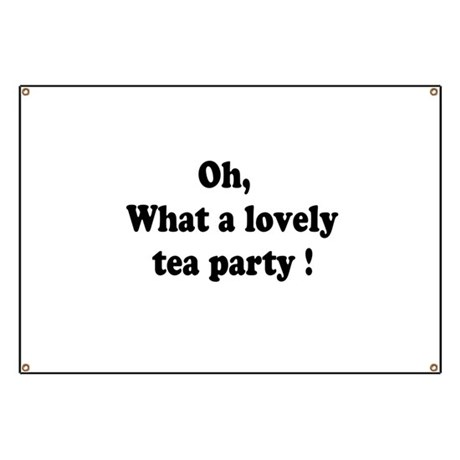 What a lovely tea party Banner