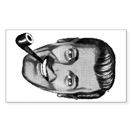 Lucky Dobbshead Rectangle Sticker