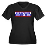 Benedict Arlen Specter Women's Plus Size V-Neck Da