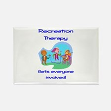 Recreation Therapy Rectangle Magnet