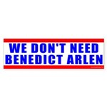 Benedict Arlen Specter Bumper Sticker (10 pk)