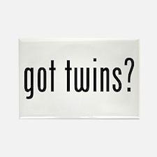 got triplets Rectangle Magnet