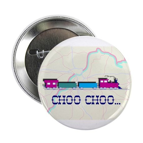 "Choo Choo 2.25"" Button (100 pack)"