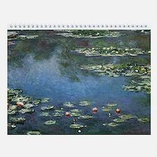Claude Monet Wall Calendar