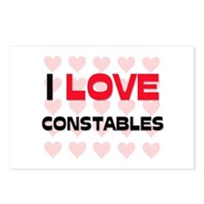 I LOVE CONSTABLES Postcards (Package of 8)