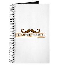 10 Cent Mustache Rides Journal